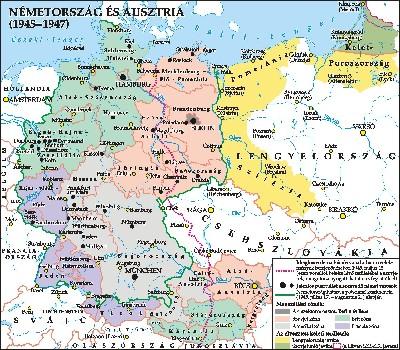németország ausztria térkép Hontalan magyarok a háború utáni Németországban németország ausztria térkép